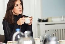 """Crown Princess Mary of Denmark / """"I am, more than anything else, happy."""" Mary, Crown Princess of Denmark"""