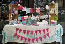 Craft Fair and Retail Display Ideas / Always a challenge....