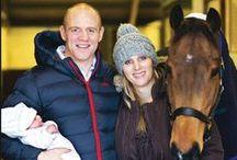 Zara Phillips / Zara Anne Elizabeth (Phillips) Tindall and her family