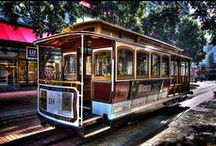 San Francisco Trolleys / Thought we'd glean a little inspiration from the West Coast. / by The Original Party Trolley of Boston