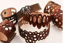 arm wrist jewelry leather