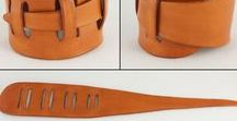 arm wrist jewelry leather how / How to make