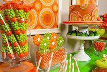Orange and Green / by Gwendolyn League Reynolds