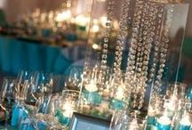 Winter in Summer / cool & crisp event design for a  wintery feeling on a hot summer day in July.