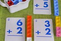 ♕ Matemáticas Lúdicas / Ideas, materiales para trabajar los conceptos matemáticos de una forma lúdica, divertida, concreta y abierta a otras pedagogías como ABN o Montessori