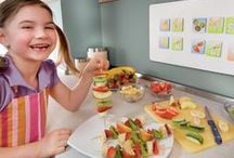 ☼ Recetas de cocina creativa / Nuestras recetas fáciles paso a paso para hacer con los niños e ideas creativas con comida para que comer sea divertido