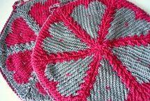 grydelap potholder strik knitt