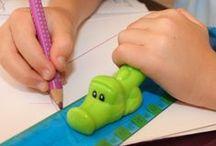 ♕ Facilitar la sujeción / Encuentre numerosos trucos para facilitar la sujeción y el día a día de los niños con #discapacidad #dispraxia #motricidadfina