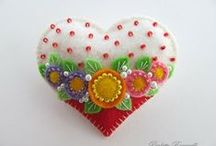 Felt! / felt crafting, love of felt, ideas for felt crafts