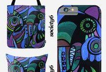 Society6 Art Prints by Deyana Deco / Art Prints, Stationery Cards, Throw Pillows, Tote Bags, Wall Clocks, Mugs, iPhone and Galaxy Phone Cases, iPad Cases, iPhone & iPod Skins & Laptop Skins by Deyana-Deco: http://society6.com/deyanadeco