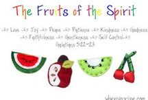 Bible 4s class/Fruit of the Spirit / by Laurel Shreve