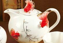 Teapots ,Milk jug, Creamer / & Milk jug