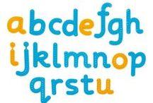 ☺ Letras y alfabetos / Diferentes letras y alfabetos para aprender a reconocerlos