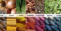 Dyes of yarn