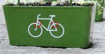 green cities ✿ villes durables / Social + Economie + Environnement : jardins partagés, abribus végétalisés, éco pâturage, récupération de l'eau de pluie, pistes cyclables...