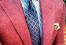 Madder ties/small printed ties