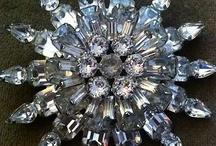 """"""" Vintage Crystals and Rhinestones """" / by Ellen B"""