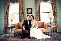 Vintage Black Tie Wedding