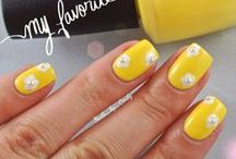 Spring Nails / Feel bright and sunshiny all spring long with these pretty designs we are inspired by! / by Nail It! Magazine