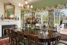 Living and Dining Room Ideas / by Ann Crane