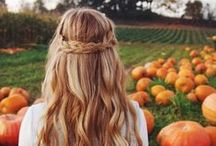 Autumn's sweet, we call it Fall ♥ / Inspiration for the autumn season