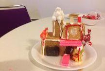 SPLD'S Gingerbread graham cracker houses