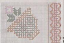 grafico de ponto reto / by Lucia Palma