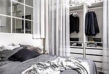 Bedroom inspiration /  Olika lösningar för sovrum, allt är måttanpassat.