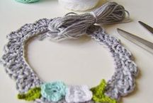 Crochet picture/photo frame