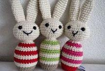 Crochet bunny's