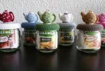 Crochet jars & boxes