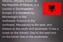 Albanian pride. KuqEzi!  / Albania / by AlbanianPlanet