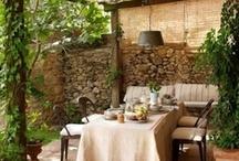 Varanda, Patio, Porch, Backyards, Courtyards, Terrace and Gazebo / by Yousef Al Mulla