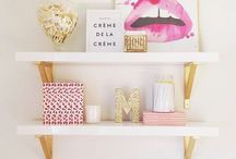 Bedroom... / Things for a bedroom (for a teenage girl like moi) / by Simi kaur