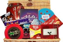 Christmas Gift Baskets / Wonderful selection of Christmas Gift Baskets.  Filled with seasonal products imported from Ireland and The UK.