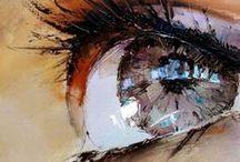 """Art - Peintures - Aquarelles etc / """" l'art c'est le plus court chemin de l'homme à l'homme"""" André Malraux"""