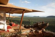 Epic Views / Something that you're never short of on an #African #safari are spectacular views - whether from your bed, camp or out and about on safari.  Check out some of these....