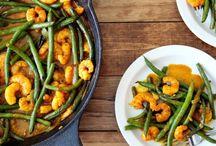 Healthy shrimp recipes / Healthy & healthier shrimp dishes
