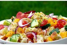 Salads, Soups, and Salsas / Healthy salad, soup, salsa and coleslaw recipes