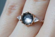 "If I ever say ""I do"" / Beautiful engagement/wedding rings"