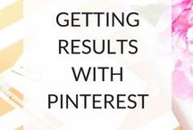 Pinterest Tricks / Pinterest is my all time favorite social media platform and it has brought tremendous amount of traffic to ny site. This is a collection of Pinterest tricks to make this platform work for your online biz