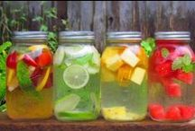 Spa Water / Different Ideas to freshen up your water and keep your intake up