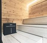 Sauna Design Trends 2016 / In year 2016 sauna design combines traditional and modern. Discover more from www.harviasauna.com.  These interiors were also seen in Asuntomessut which is Finnish housing and interior design expo.