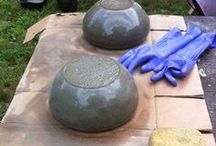 DIY~Pots and Containers~Concrete