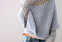 Ponchos / Knitting patterns for ponchos!