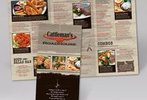 Plastic Printed Menus / Menu Master's offers a variety of synthetic substrates and plastic menu options that outlast their traditional printed paper counterparts. #menucovers #restaurantmenu #menudesign