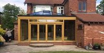 Orangeries / Timber and uPVC Orangeries by Reddish Joinery.