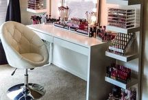 Beauty room/Home office / Ideas & inspiration for my makeup home office room