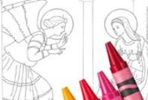 Coloriage religieux / by Loulou :)
