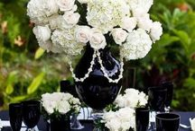 Beautiful Table and Centerpieces / A beautiful table/centerpiece is half of the experience